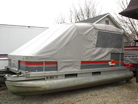 Turn Your Pontoon Into a Camping Tent - Rocky Mountain RV and Marine