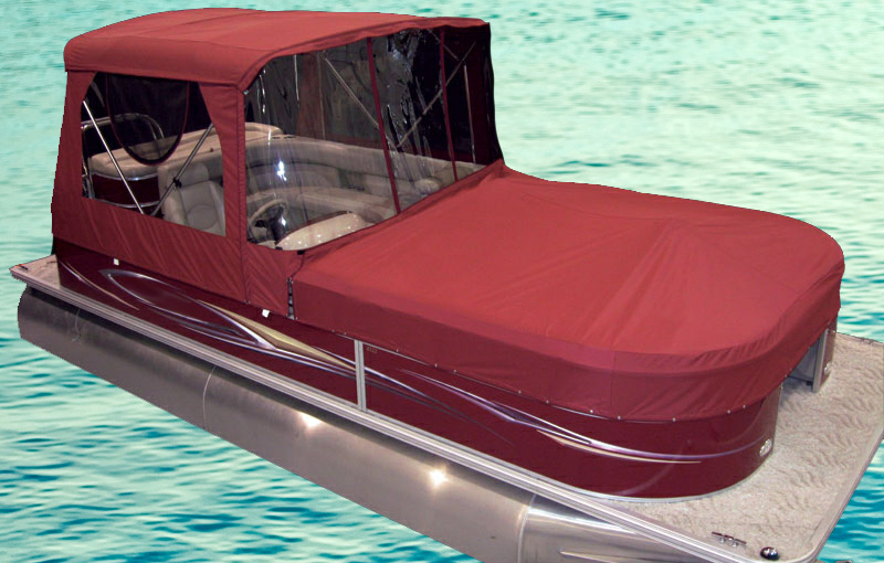 Turn Your Pontoon Into A Camping Tent Rocky Mountain Rv