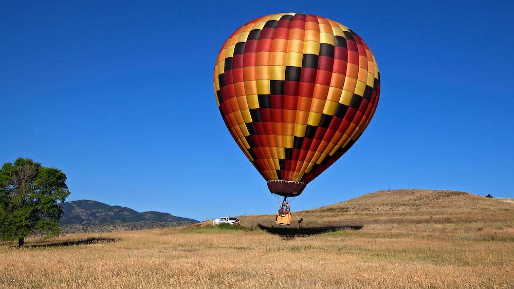 Hatfield hot air balloon