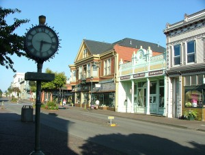 Eureka_Old_Town_and_Clock