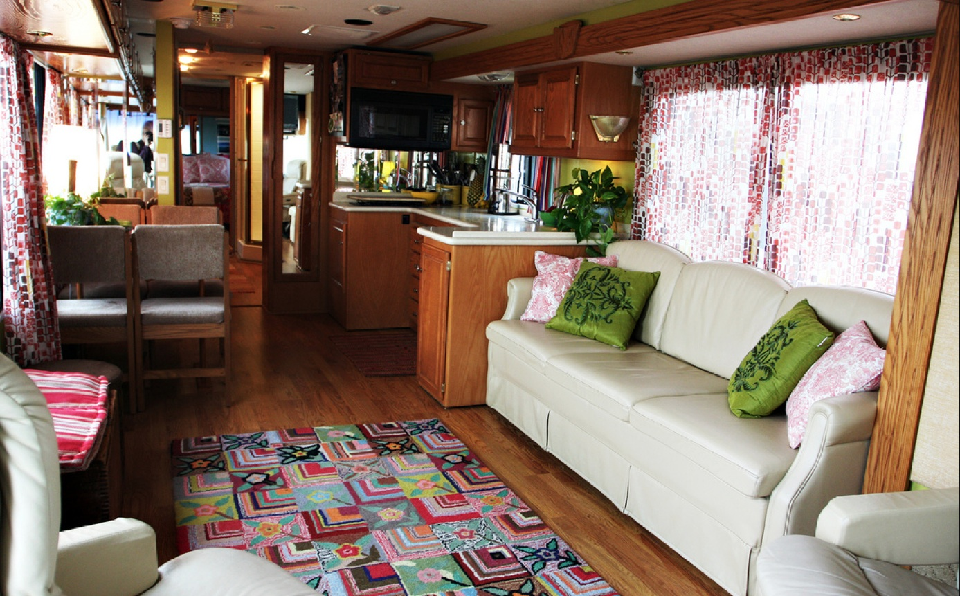 Rv curtains motorhome class a - Ideas For Remodeling Your Rv