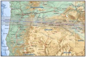 Oregon Eclipse Track