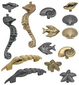 Sealife Drawer Pulls