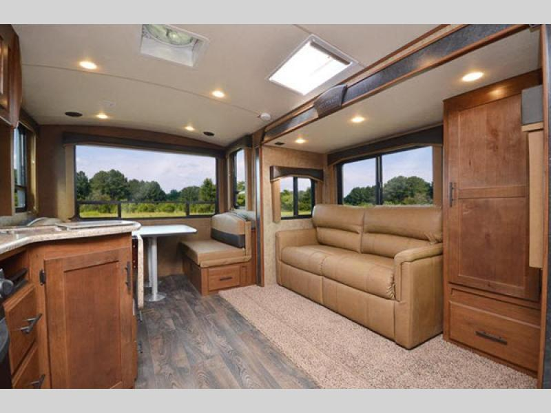 timber ridge mountain series travel trailer review living room