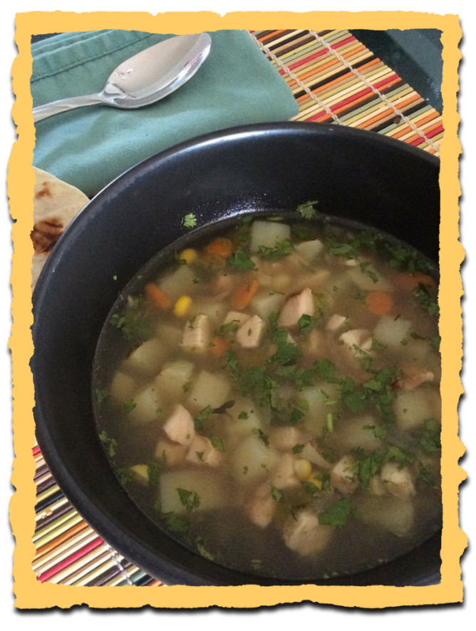 bub's green chile stew